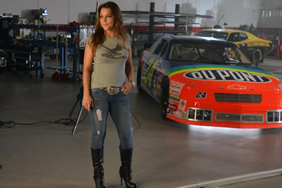 Gretchen Wilson Joins ESPN for NASCAR Chase Coverage