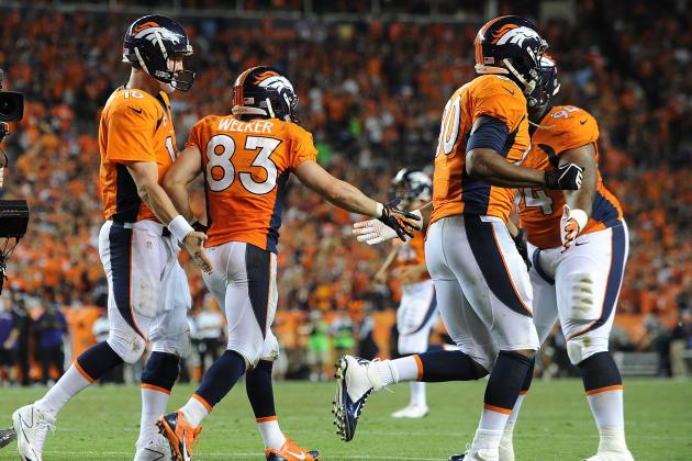 Manning's Three Second Half TD Passes Gives Broncos Lead