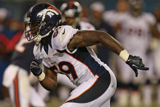 Danny Trevathan Ruins Pick-6 Opportunity with Goal-Line Blunder