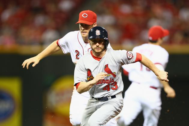 Reds Beat Cards with Show of Power