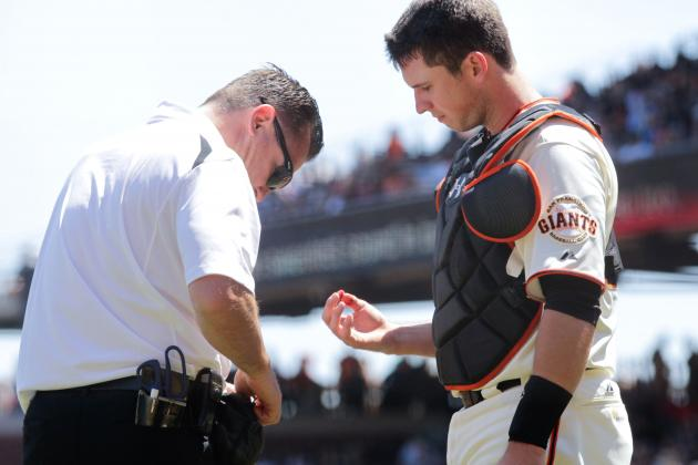 Bochy: Posey Has 'Little Fracture' in Finger