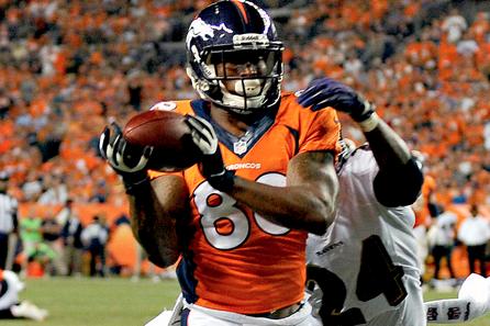 Peyton Manning's Touchdowns