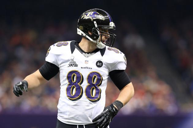 Anquan Boldin, Dennis Pitta Missed by Ravens' Offense