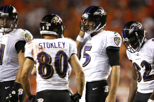 Joe Flacco Picks Up Where He Left off for Ravens