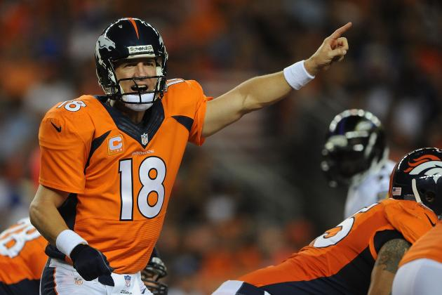 The Odds Against Peyton Manning's 7-Touchdown Pass Performance
