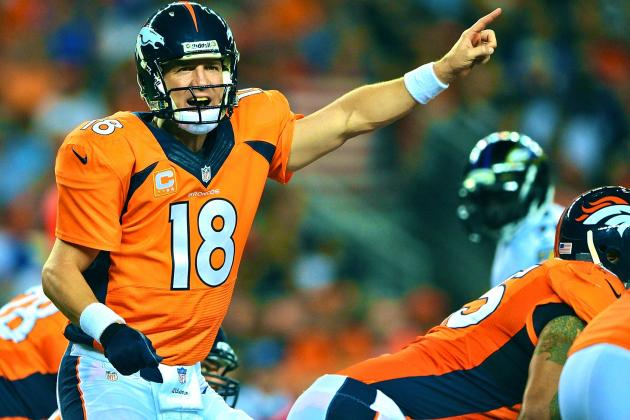 Peyton Manning's Passing Brilliance Puts Him on Track for His Best Season Ever
