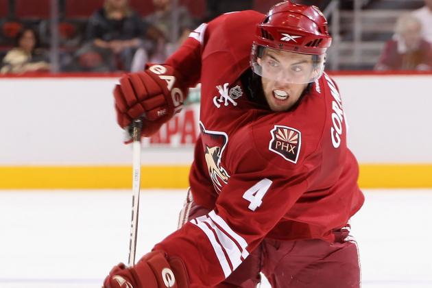 Which Phoenix Coyotes Rookies Will Turn Heads at Training Camp?