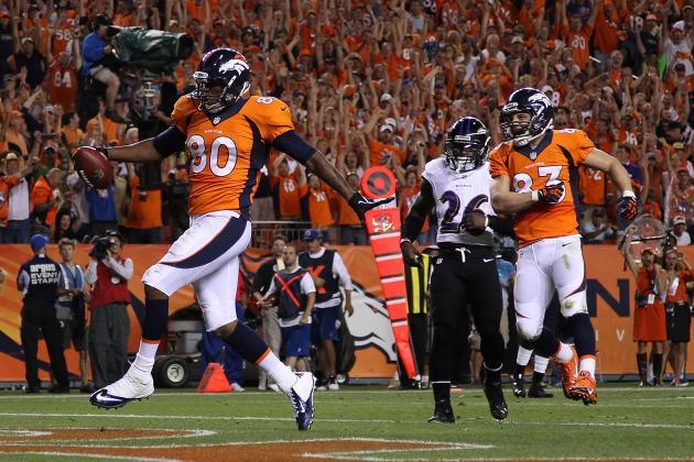 Julius Thomas' 2-TD Debut as Broncos' Starting TE Makes Him Top Waiver Target