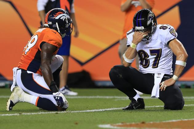 Dallas Clark's Nightmarish Evening Sums Up Opener For Baltimore Ravens