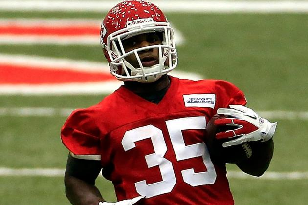 Knile Davis Likely to Get Chance to Return Kicks Sunday Against Jacksonville