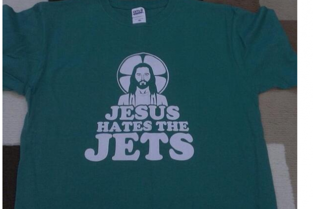 Even the Son of God HATES the Jets & Here Is the Shirt to Prove It