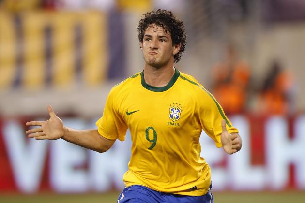 Alexandre Pato on the Comeback Trail for Luiz Felipe Scolari's Brazil