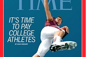 Johnny Manziel on the Cover of TIME Accelerates Debate of Players Being Paid