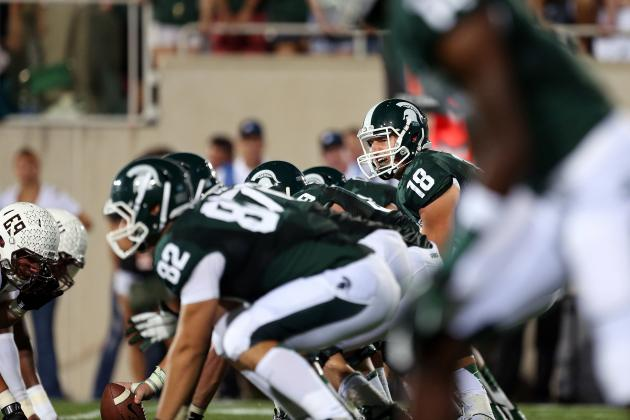 It May Not Be as Big as USC, but Michigan State Has a QB Battle to Settle Too