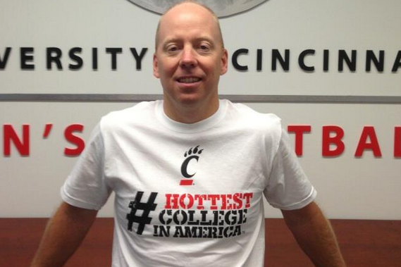 "Mick Cronin Dons ""Hottest College in America"" Shirt"