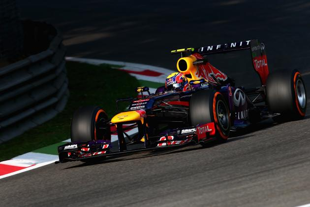 Italian Grand Prix 2013 Qualifying: Red Bull Is in a Strong Position