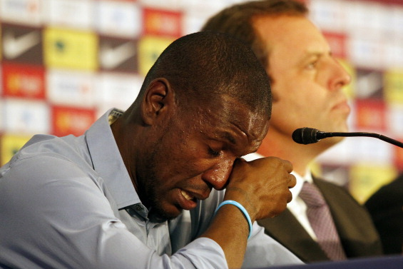Eric Abidal Says Barcelona Did Not Pay Him During His Illness, Liver Transplant
