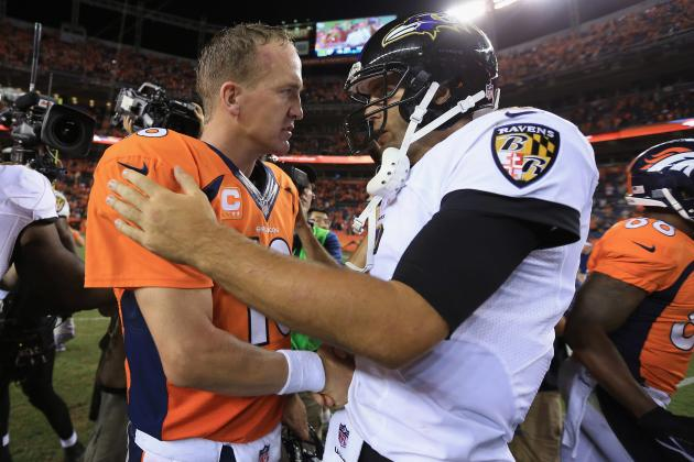 Peyton Manning's Season Opener Eclipses Joe Flacco's Super Bowl Title