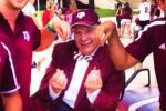 Texas A&M Prez Throws Up Manziel Sign