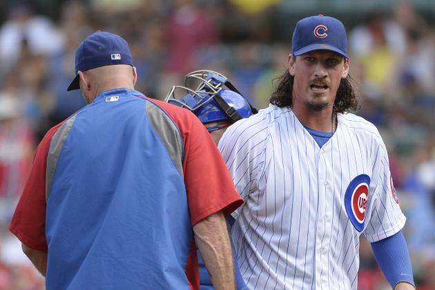 Jeff Samardzija Not Battling Enough