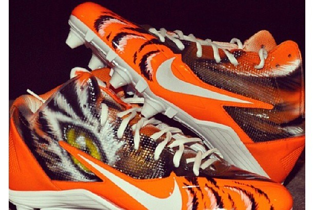 Cincinnati WR AJ Green Will Wear Custom Bengals Cleats This Sunday