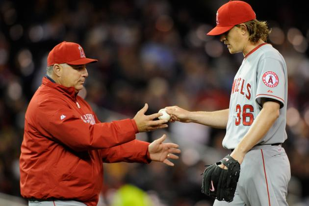 Scioscia Plans to Watch Starters' Workloads