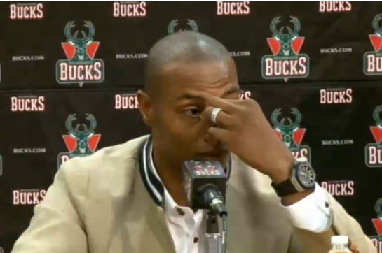 VIDEO: Bucks' Caron Butler Gets Emotional in Presser Returning Home
