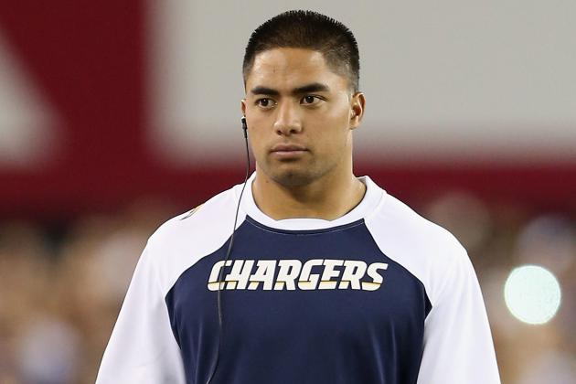 Chargers Are Healthy, Other Than Manti Te'o
