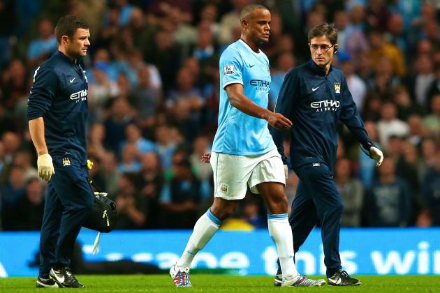 Vincent Kompany Injury: Updates on Manchester City Star's Status