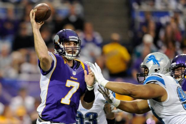 Why Protecting Christian Ponder Is Key for Vikings Against Lions