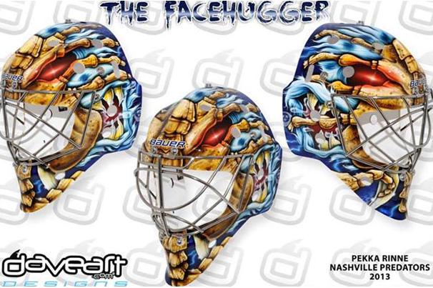 Image: Rinne Unveils 'Facehugger' Mask