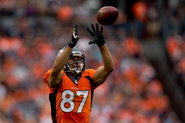 Eric Decker Is Distant 3rd Fantasy WR in Denver After Wes Welker's Explosion