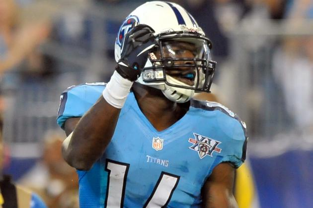Titans Might Dress Just Four Receivers in Opener