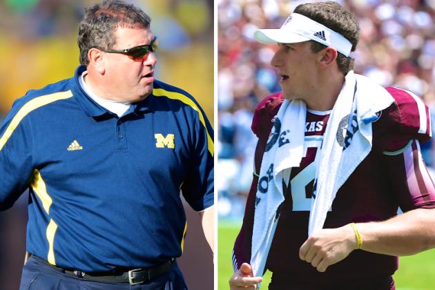 Brady Hoke Says Johnny Manziel Would Be Devin Gardner's Backup at Michigan