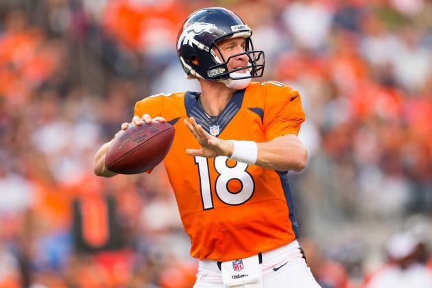 Will Peyton Manning Top Brett Favre's All-Time TD Pass Record?