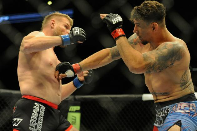UFC 164 Preliminary Card on FS1 Overnight Ratings Review