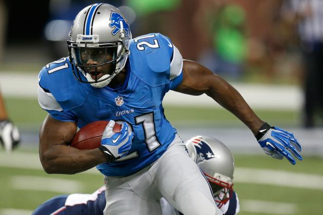 Fantasy Football 2013: Running Backs to Bench in Week 1
