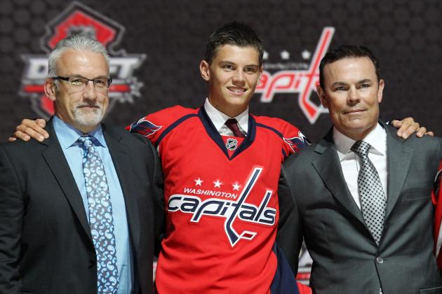 Andre Burakovsky Making the Transition to North America