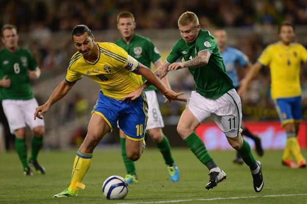 World Cup Qualifiers: Ireland Beaten by Sweden in Dublin