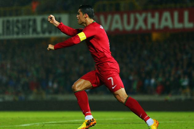 Cristiano Ronaldo Plays Hat-Trick Hero for Portugal Against Northern Ireland