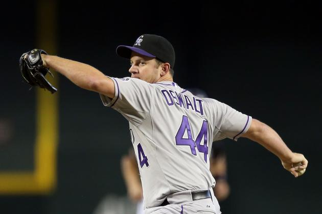 Rockies Activate Oswalt and Pomeranz from DL