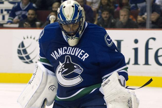 Roberto Luongo Arrives in Vancouver Looking Forward