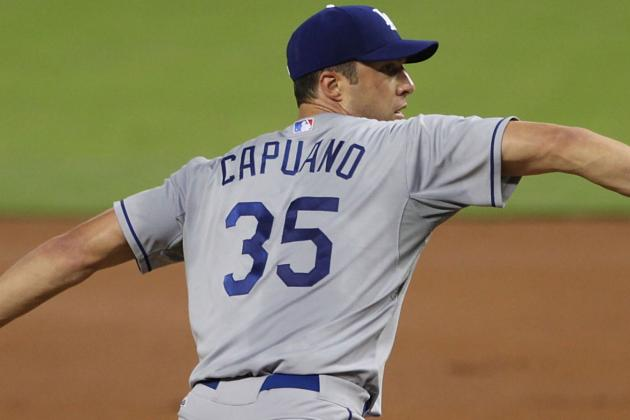 Chris Capuano Injury: Dodgers LHP Leaves Game in 2nd Inning