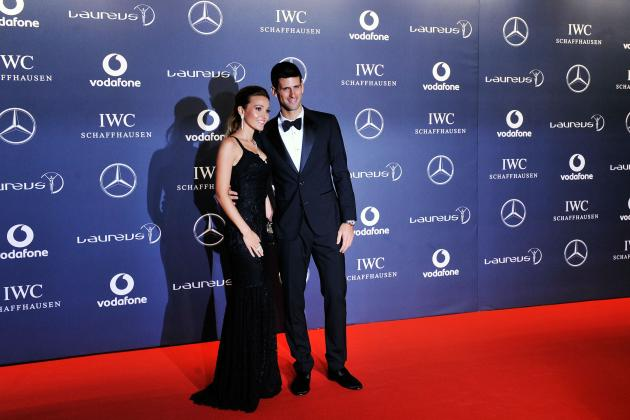 Novak Djokovic and Girlfriend Jelena Ristic Are Sport's Dynamic Duo
