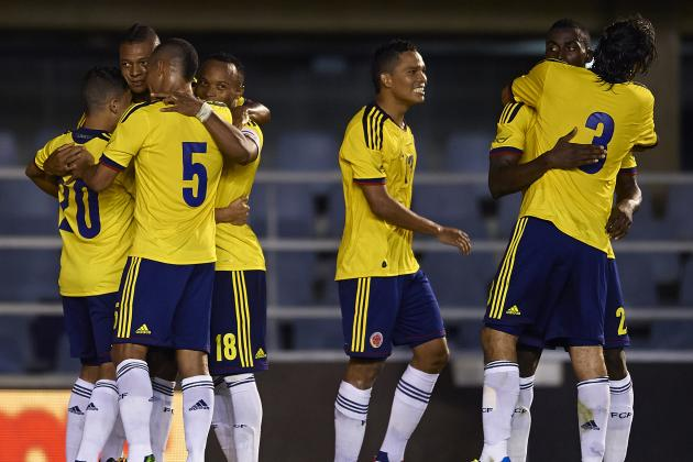 Colombia's New Golden Generation Are on Their Way to the World Cup