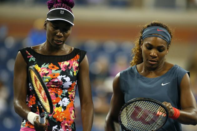 Serena, Venus Williams Falter in U.S. Open Doubles Semifinals
