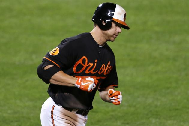 Chris Davis Hits Home Run #48 While Scott Feldman Blanks the White Sox