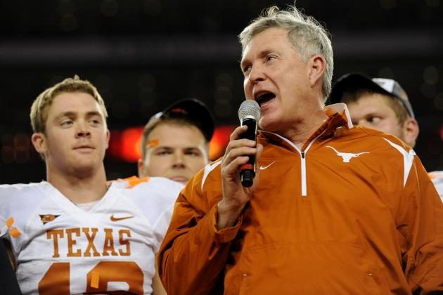 Texas Football Coach Mack Brown Impersonation Is the Best You'll Hear