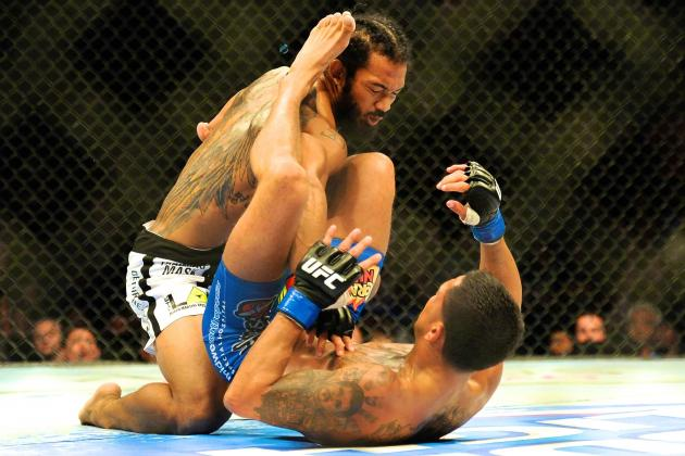 Benson Henderson Suffers No Damage to Elbow, Vows to Return Better Than Ever