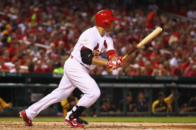 Cardinals Outslug Pirates in Opener of Key NL Central Series